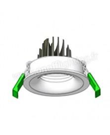 Spot LED encastré 8W Étanche IP65 Extra plat