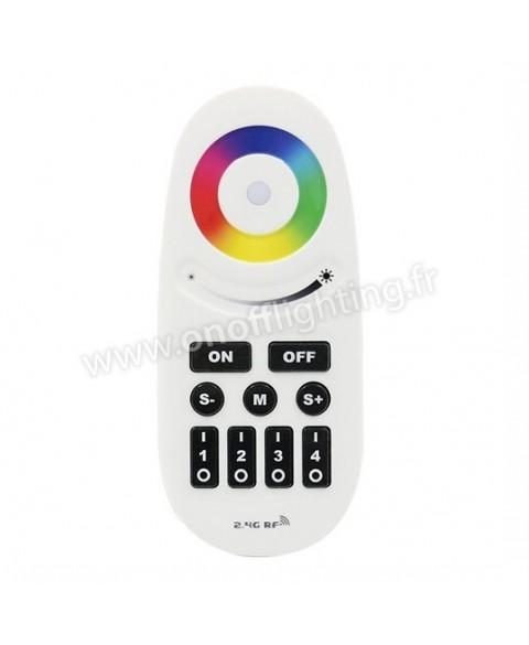 blanc Pour Rvb Lampe Rf Télécommande ynwmPv80ON