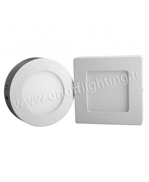 spot led dolight 6w en saillie rond ou carre