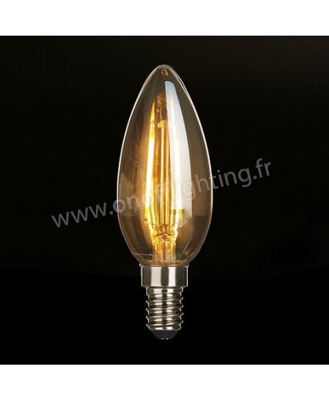 À Lampe Led 04 E14 Filament 3w Lusti Ogive gfb7yY6